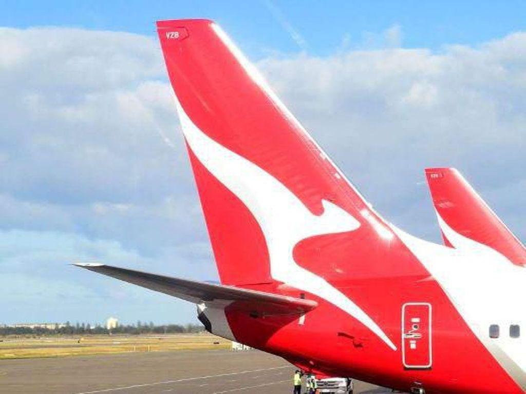 Rugi Besar, Qantas Rumahkan 2.400 Karyawan