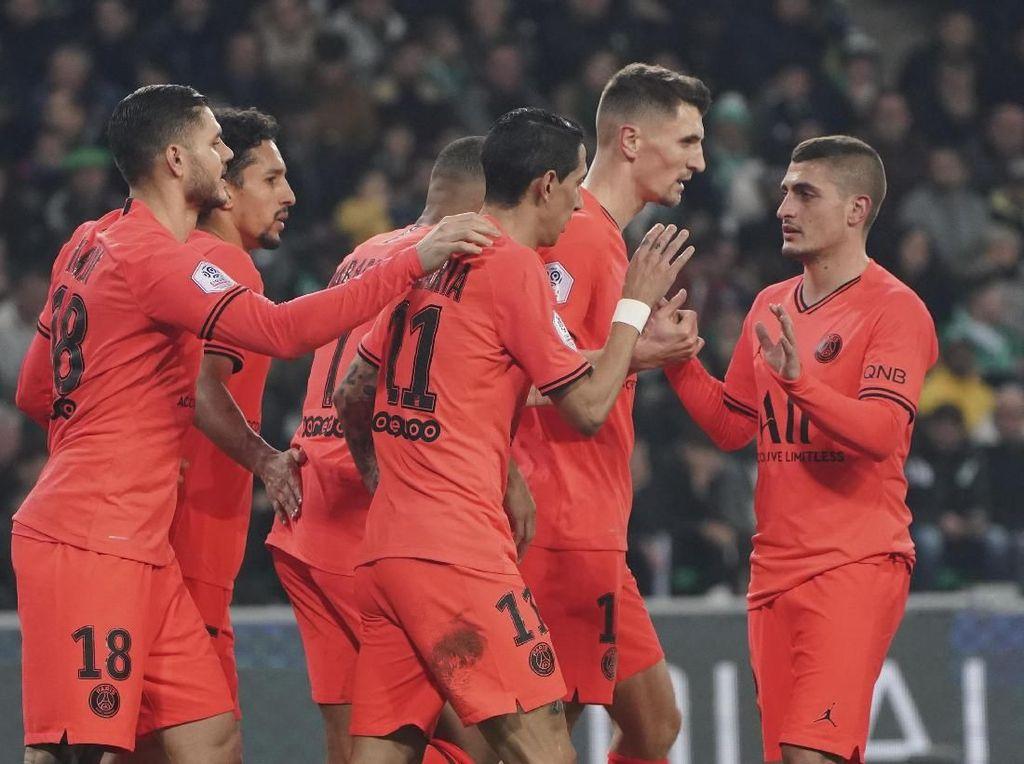Paris Saint-Germain Gilas Saint-Etienne 4-0