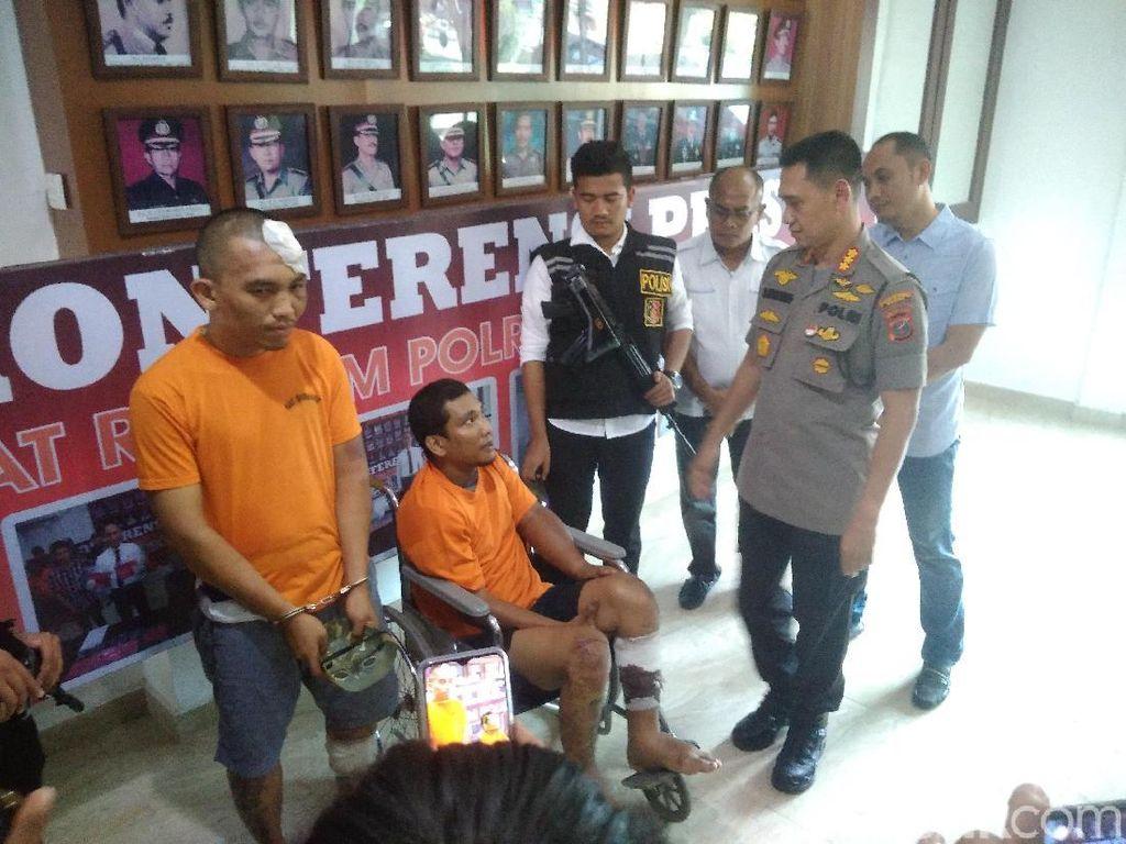 Polisi Tangkap 2 Penjambret HP Kepala Ombudsman Sumut
