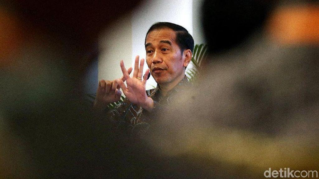 Momen Jokowi Buka Musrenbangnas di Istana