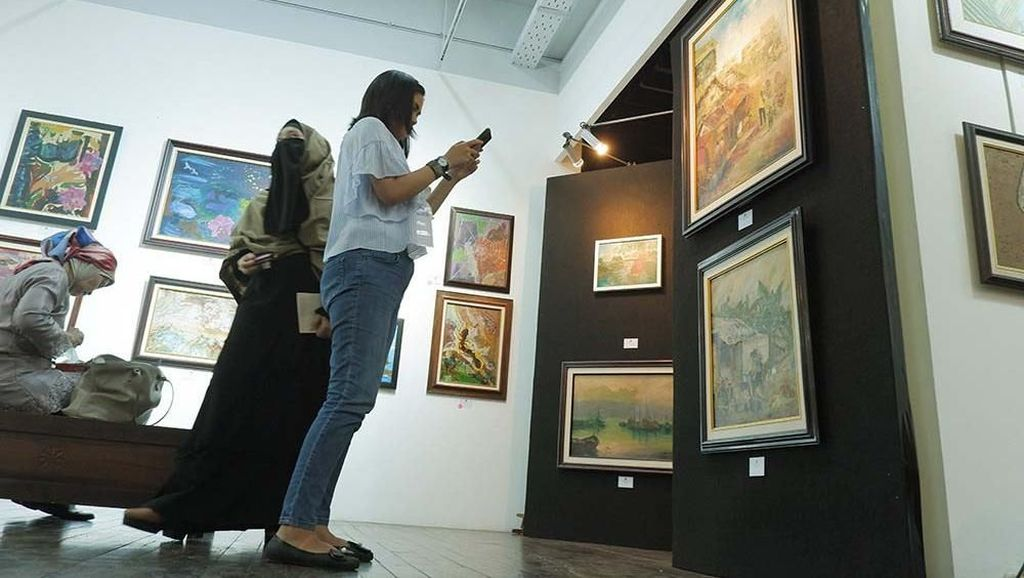 Pameran Lukisan Senda Gurau: dari Lebak Ria ke Medan Cita