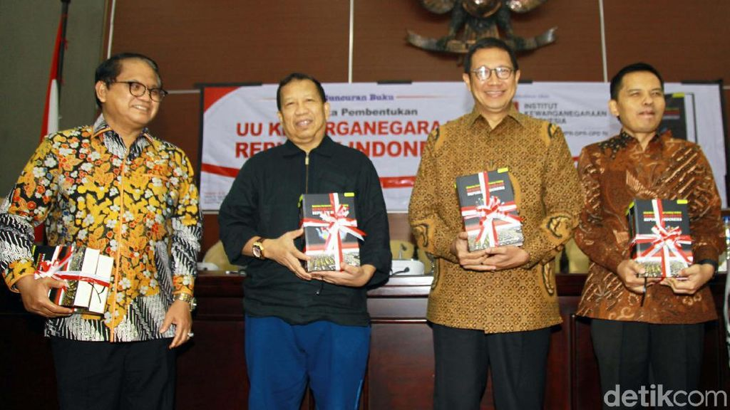 Peluncuran Buku Dinamika Pembentukan UU Kewarganegaraan RI