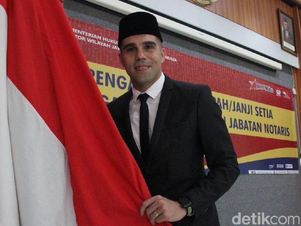Usai Jadi WNI, Beltrame Ingin Bertahan di Persib Bandung