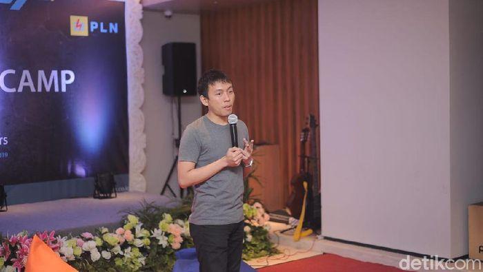 Foto: Direktur Teknologi Garuda Tauberes Indonesia, Gisneo Pratala,/Dok Istimewa
