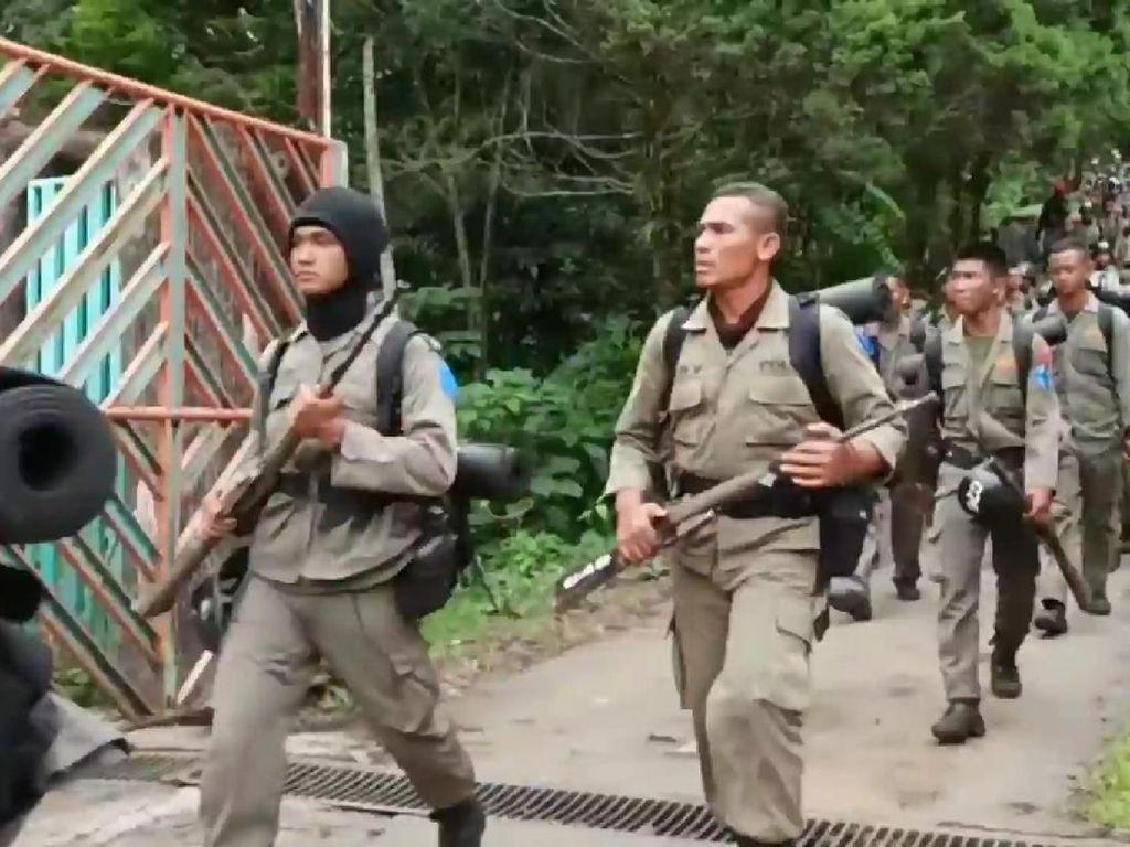 Usai 3 Tewas Tersambar Petir, Ratusan Peserta Didik Brimob Turun Gunung