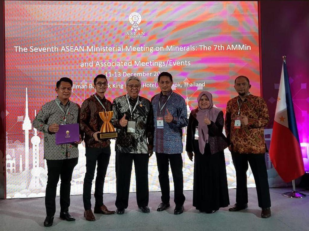 Kembangkan Mineral Berkelanjutan, Antam Raih Penghargaan di Thailand