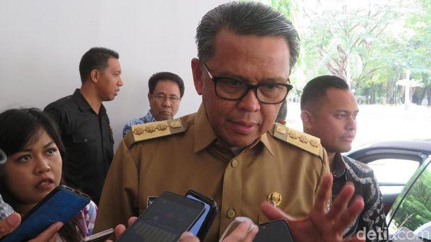 Noval Dhwinuari Antony-detikcom/Gubernur Sulsel Nurdin Abdullah