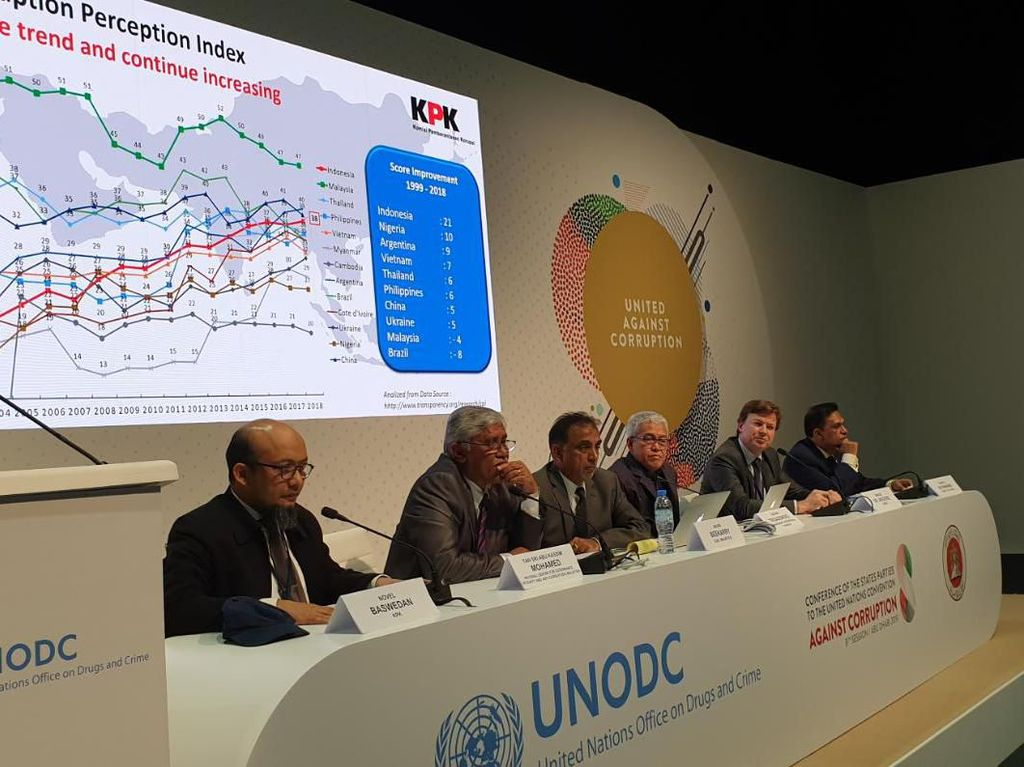 Di Konferensi Pendukung Konvensi PBB, Novel Baswedan Bicara Teror Air Keras