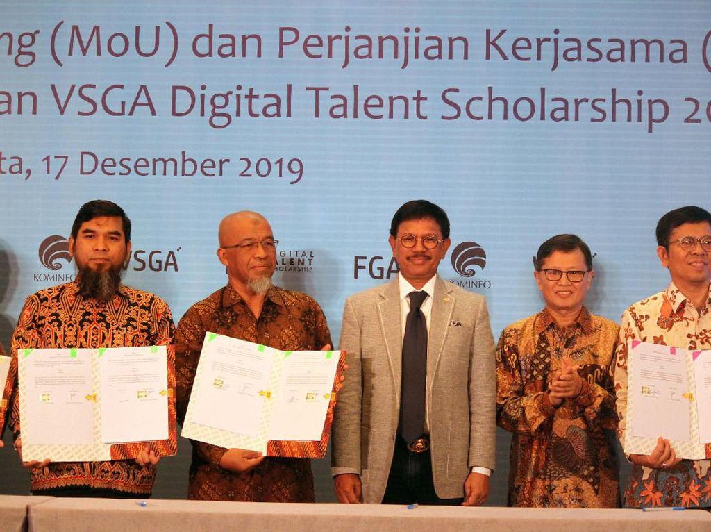 Kejar 9 Juta Talenta Digital, Kominfo Gaet Perguruan Tinggi