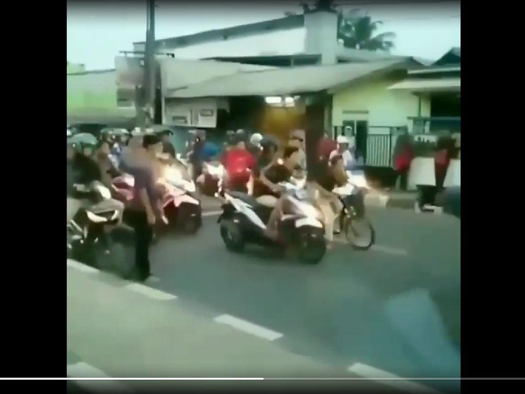 Balap Liar di Bekasi Diduga Jadi Ajang Judi, Bandar Diburu Polisi