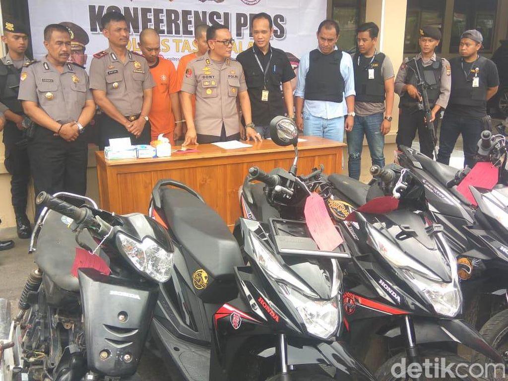 Pencuri Motor Modus Teman Ayah Sasar Bocah SMP di Tasikmalaya