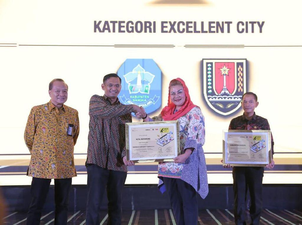 Wujudkan Keselamatan Jalan Raya, Pemkot Semarang Raih Penghargaan