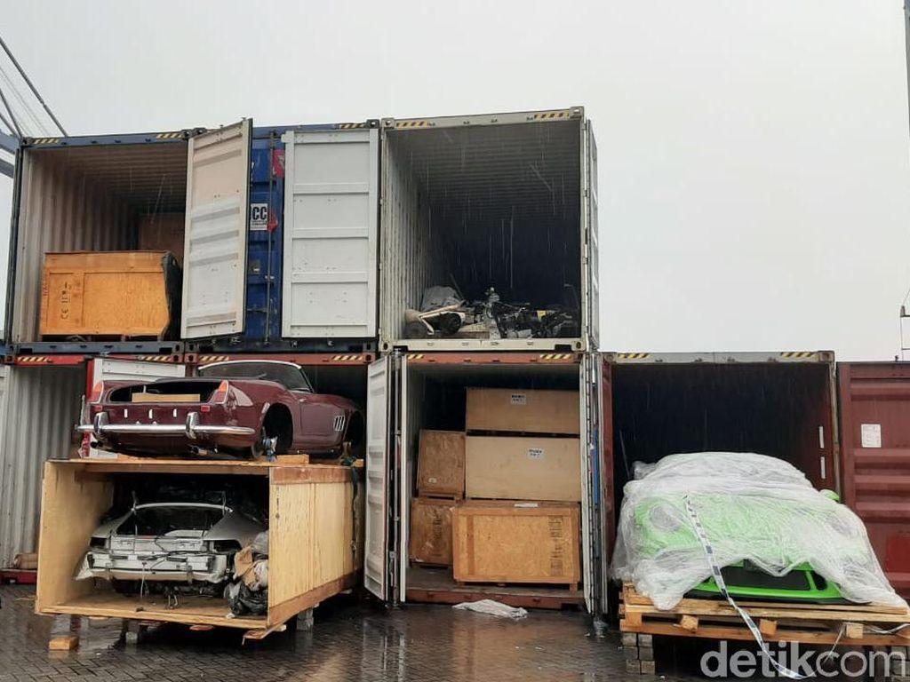 Modus Penyelundupan Moge dan Mobil Mewah: Dilaporkan Jadi Batu Bata