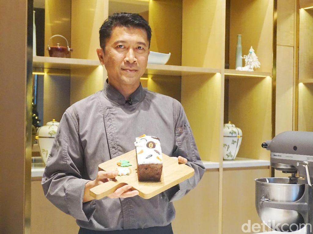 Ini Cara Bikin Fruitcake Enak dan Praktis dari Chef Hotel Berbintang