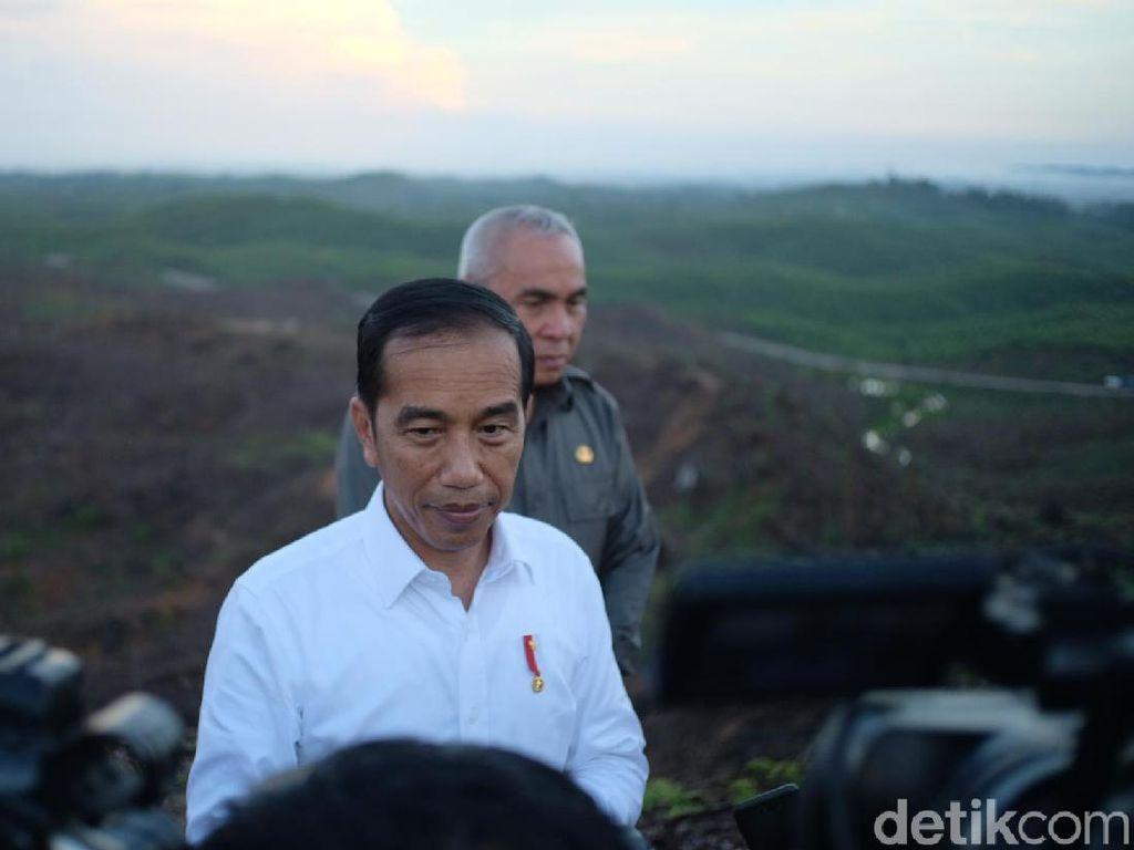 Jokowi Mau Beri Nama Ibu Kota Baru Tahun Depan