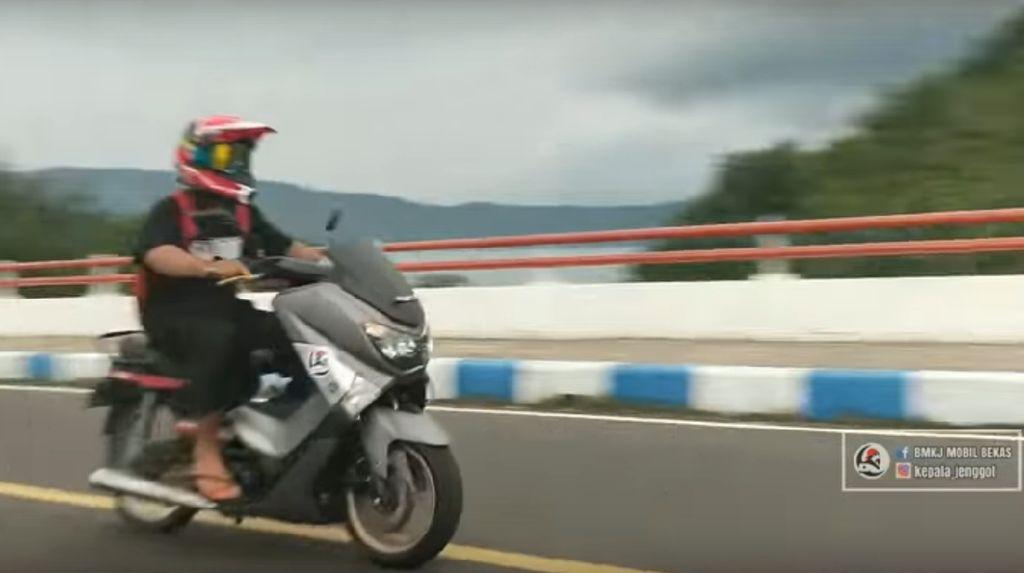 Ketika Honda Grand Kawin Silang dengan Yamaha Nmax