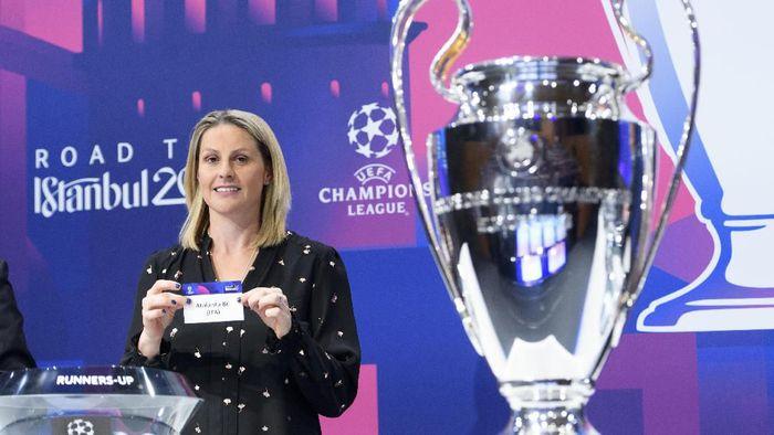 Drawing Liga Champions babak 16 besar salah satunya menghasilkan duel Reakl Madrid dengan Manchester CityFoto: Laurent Gillieron/Keystone via AP