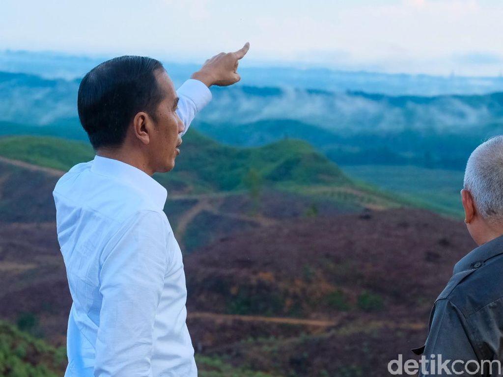 Jokowi Janji Tak Bangun Pabrik di Ibu Kota Baru