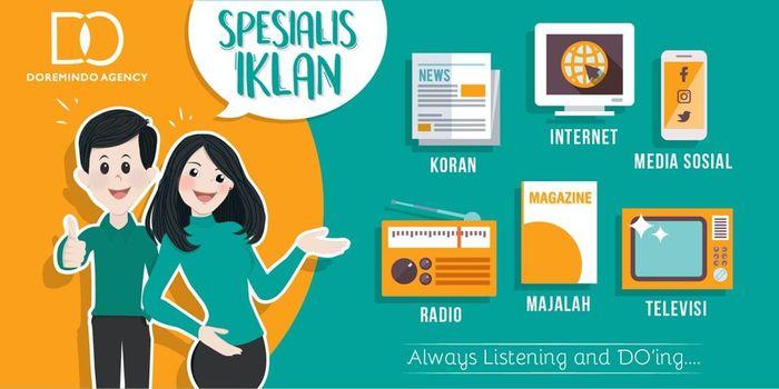 Doremindo Agency melayani jasa pasang iklan koran, majalah, radio, TV, internet, dll
