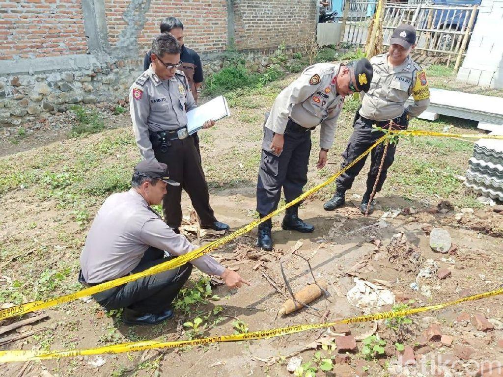 Petani di Kediri Temukan Mortir Aktif Saat Buka Lahan untuk Berladang
