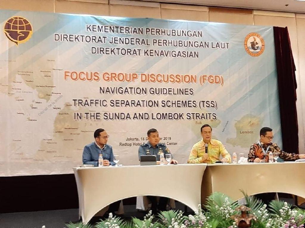 Kemenhub Siapkan Panduan Navigasi Pemisahan Alur Selat Sunda & Lombok