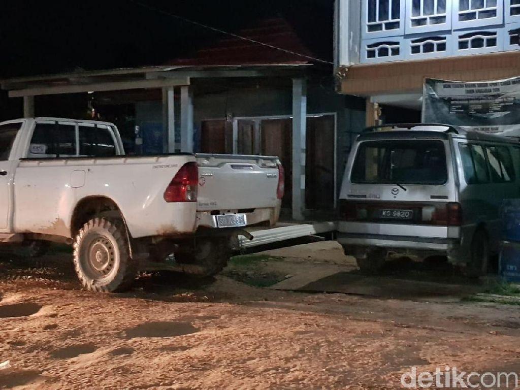 Miris, Tak Ada Mobil Pelat RI di Perbatasan Kalimantan