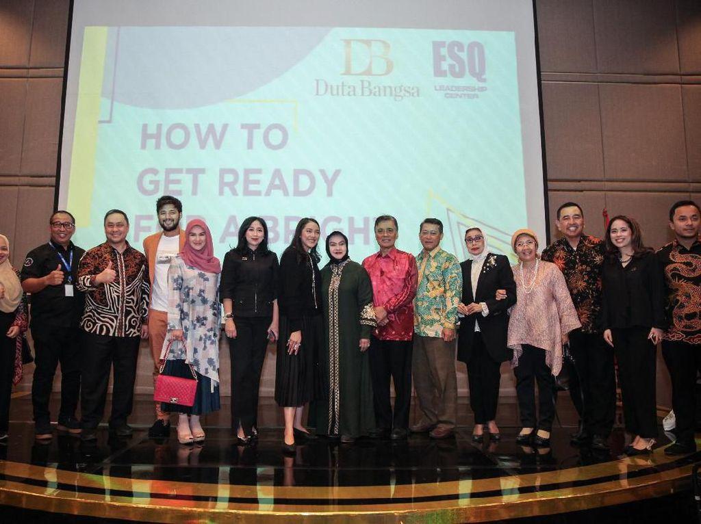 Kolaborasi Duta Bangsa-ESQ, Putri Tanjung Berbagi Skill Wajib Milenial