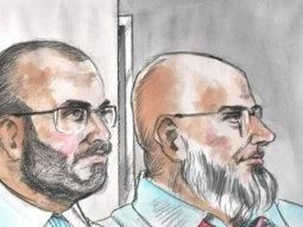 Rencanakan Ledakan Pesawat, Khayath Bersaudara Dipenjara 40 Tahun