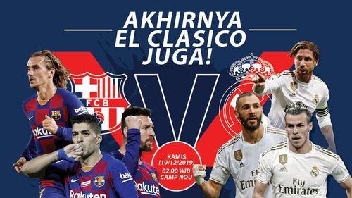 Yang Tertunda Akhirnya Digelar Juga: El Clasico di Camp Nou