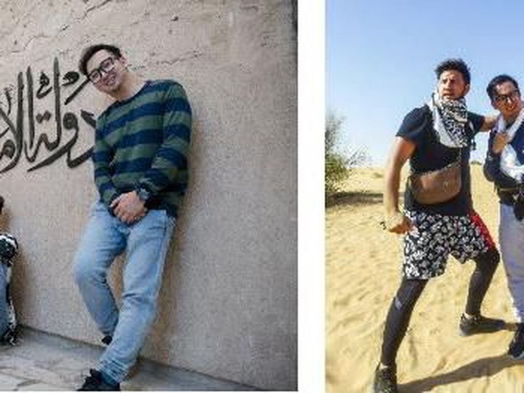 Ammar Zoni dan Edho Zell Juara AXN Dubai Ultimate Challenge