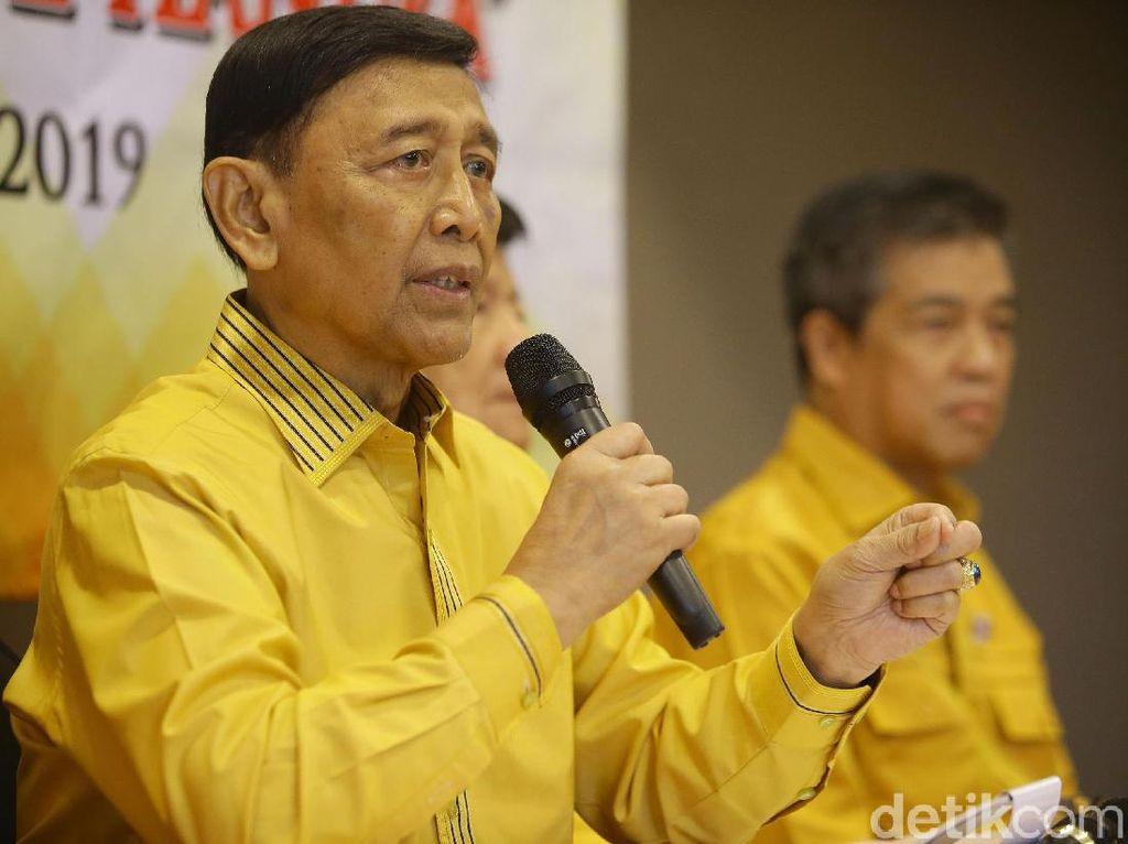 Permasalahkan Tak Diundang ke Munas Hanura, Wiranto: Aneh di Luar Kelaziman!