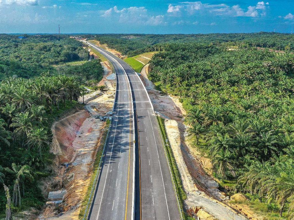 Seksi I Dibuka Gratis, Ini Penampakan Tol Pertama di Riau