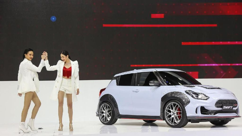 Tampang Suzuki Swift yang Makin Sporty