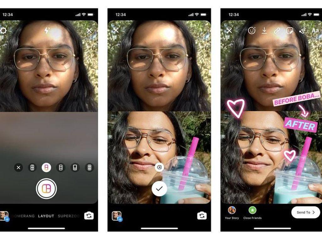 Instagram Luncurkan Fitur Layout untuk Stories