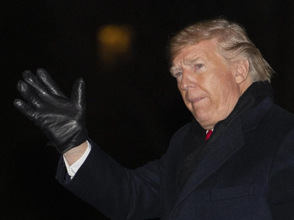 Trump: Krisis Corona Lebih Buruk dari Tragedi Pearl Harbor dan 11 September