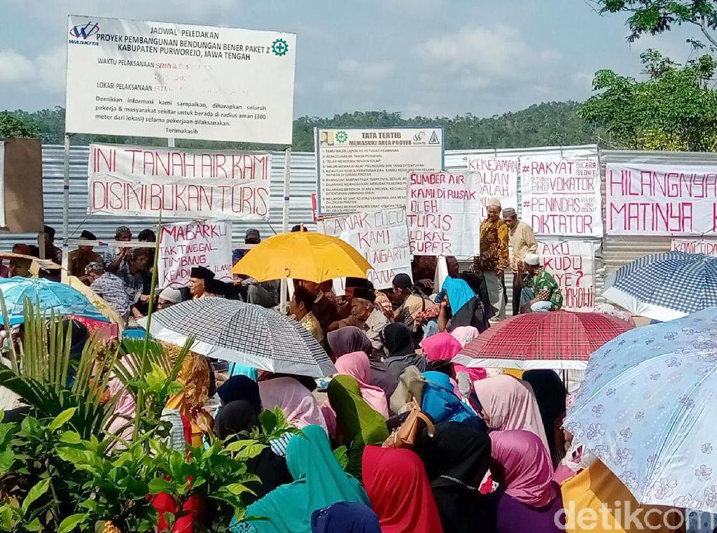 Warga Terdampak Bendungan Bener di Purworejo Tuntut Ganti Rugi Layak