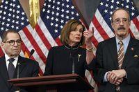 Donald Trump Dimakzulkan, Bros Ketua dewan perwakilan rakyat AS Nancy Pelosi Curi Atensi
