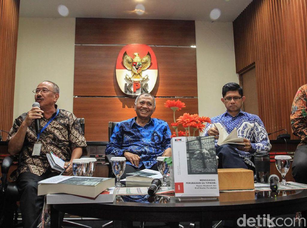 Pimpinan KPK Hingga Ahli Hukum Bicara Perubahan UU Tipikor