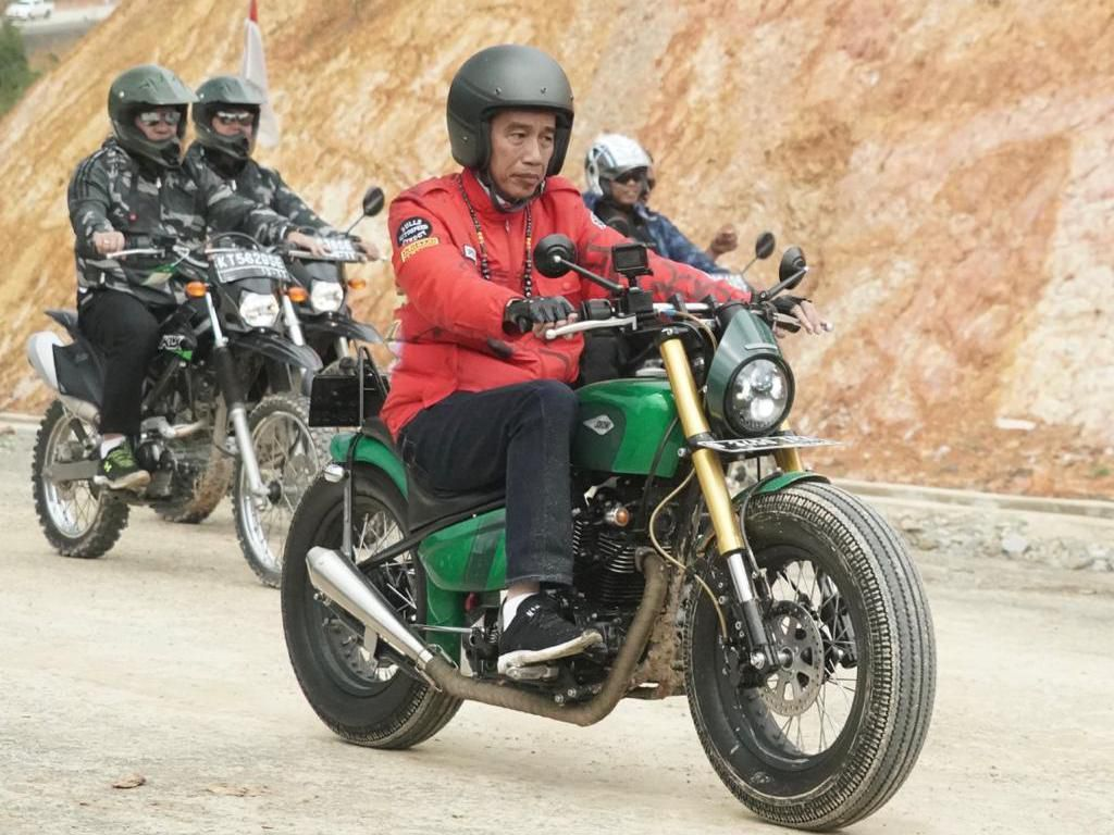 Hobi Motoran Jokowi Tersalurkan Lagi