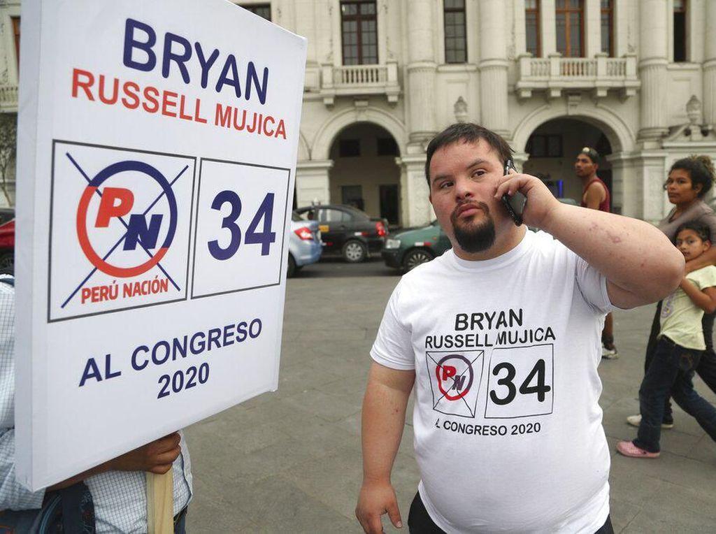 Perkenalkan Bryan Russell, Calon Anggota Parlemen Down Syndrome dari Peru