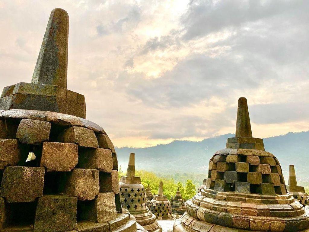 Wishnutama Puji Keindahan Candi Borobudur