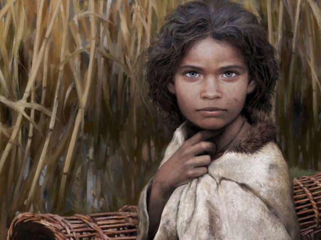 Permen Karet Ungkap Wajah Gadis yang Hidup 5.700 Tahun Silam