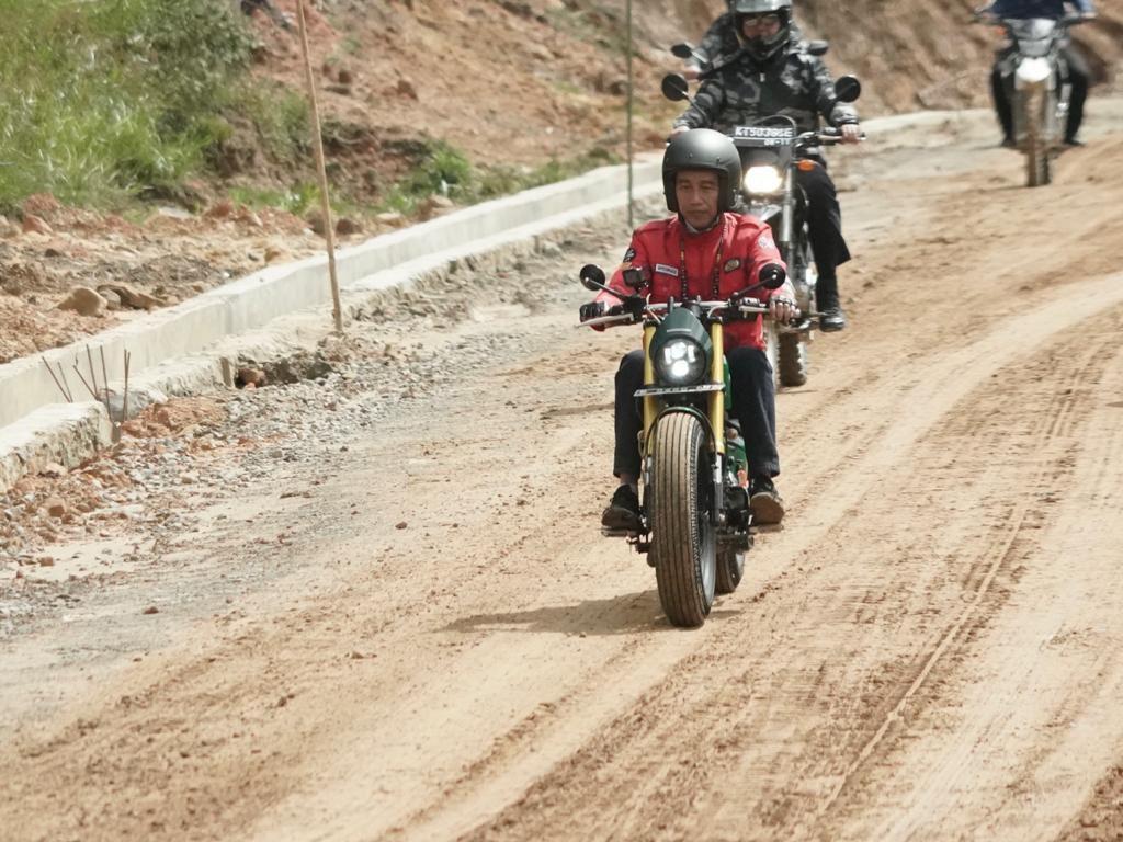 Jokowi Mau Bangun 4 Pos Perbatasan Baru Rp 1 Triliun di Kaltara
