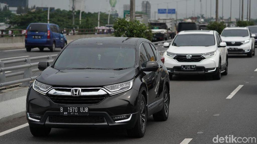 Naik Honda CR-V, Tol Layang Japek Dilibas Dalam 27 Menit