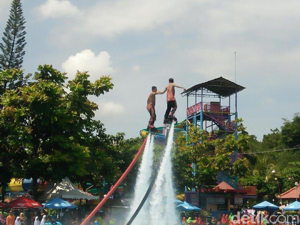Baru di Purbalingga, Ada Flyboard Kolam Pertama Indonesia