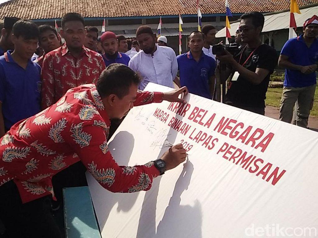Cerita Napiter Nusakambangan: Dari Radikal Kini Ikrar Setia NKRI