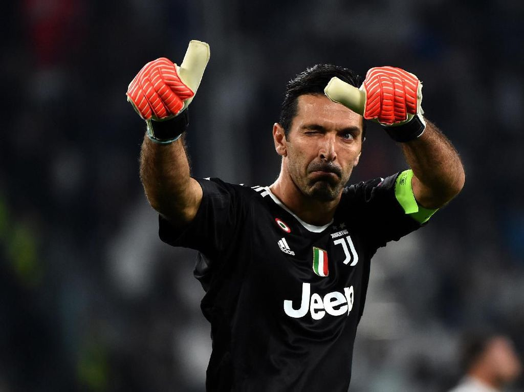 Buffon Samai Rekor Maldini, Salip Del Piero