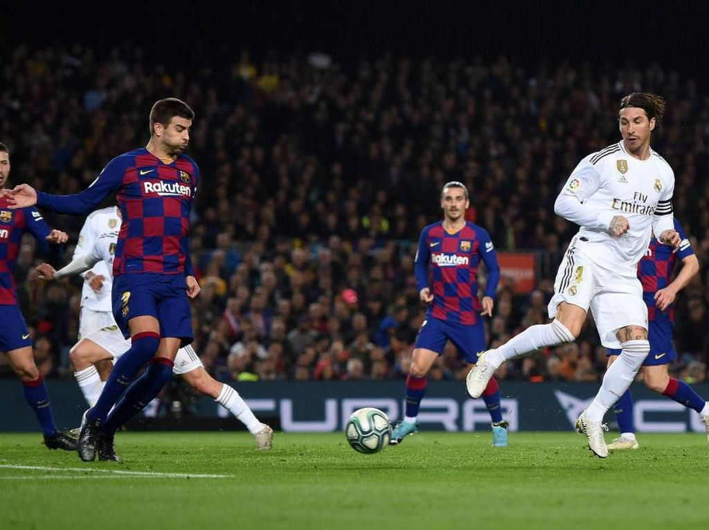 Sergio Ramos: Satu Angka dari Camp Nou Positif, tapi...