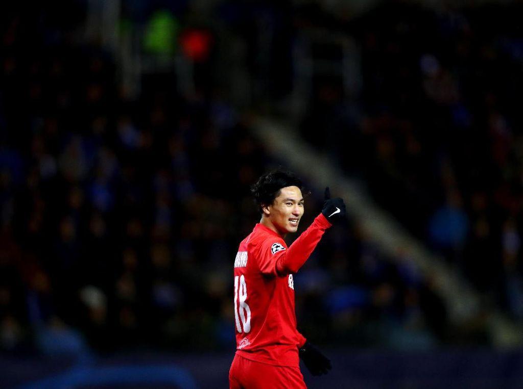 Takumi Minamino Resmi Gabung Liverpool