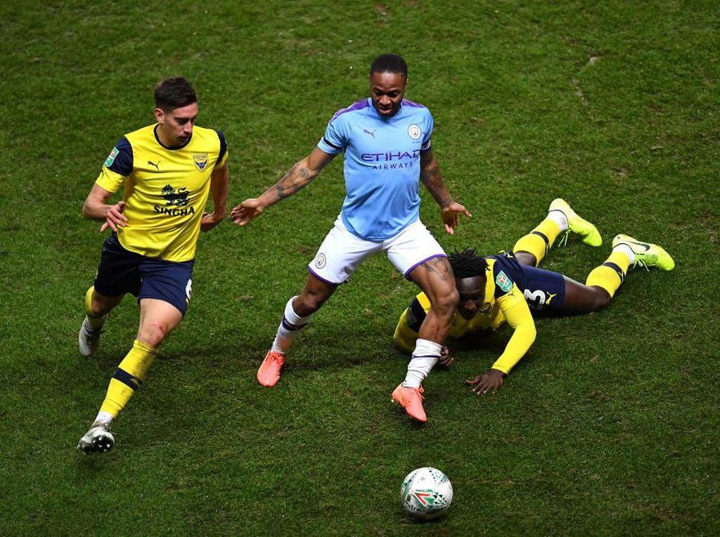 Piala Liga Inggris: Kandaskan Oxford, City Melaju ke Semifinal